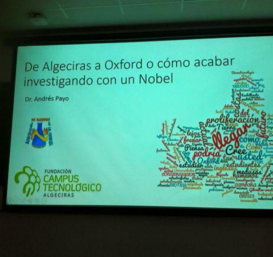 EXCELENTE CONFERENCIA DEL DR. ANDRES PAYO