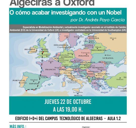 De Algeciras a Oxford o como acabar investigando con un Nobel