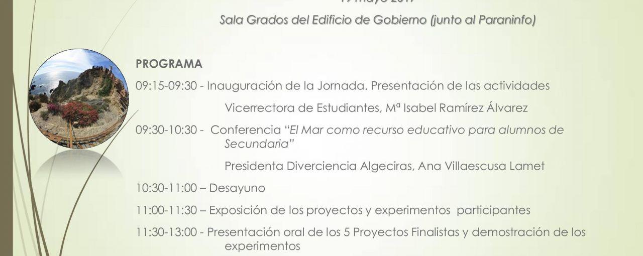 DIVERCIENCIA EN EL IV CERTAMEN DE PROYECTOS EDUCATIVOS EN LA UAL
