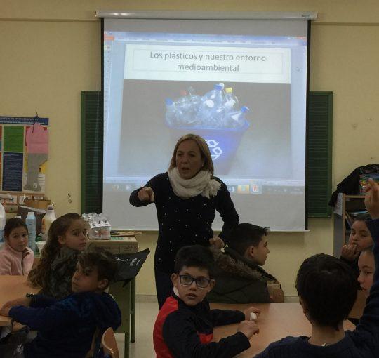 CEIP. San García, Talleres celebrando el Día de la Mujer y la Niña en la Ciencia