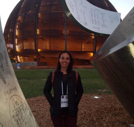 Experiencia en el CERN de nuestra compañera Isabel Couma
