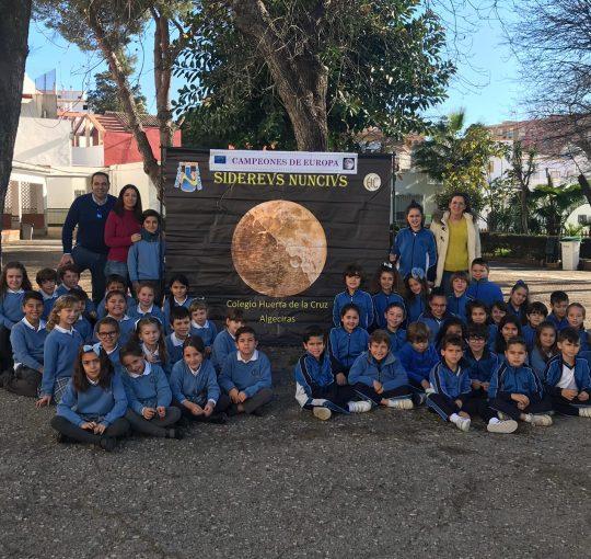 Pequeños Astrónomos Algecireños También Premiados En El Concurso Europeo  CATCH A STAR