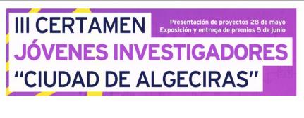 PREMIOS III CERTAMEN JÓVENES INVESTIGADORES CIUDAD DE ALGECIRAS