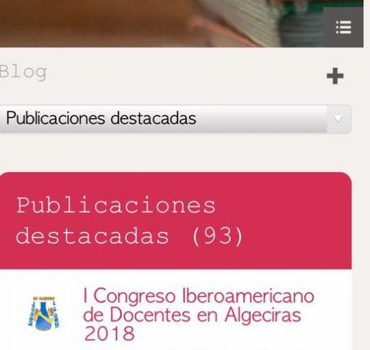 I CONGRESO IBEROAMERICANO DE DOCENTES EN ALGECIRAS