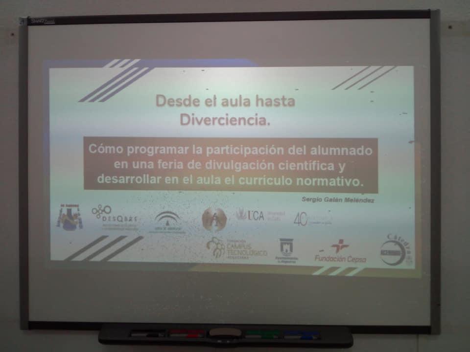 """""""DESDE EL AULA HASTA DIVERCIENCIA"""" CURSO FORMATIVO"""