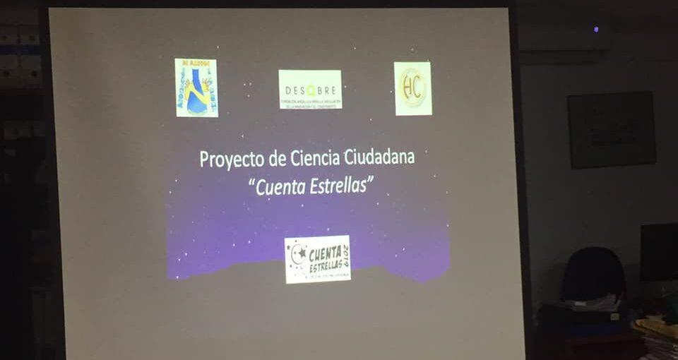 """PROYECTO DE CIENCIA CIUDADANA """"CUENTA ESTRELLAS"""""""