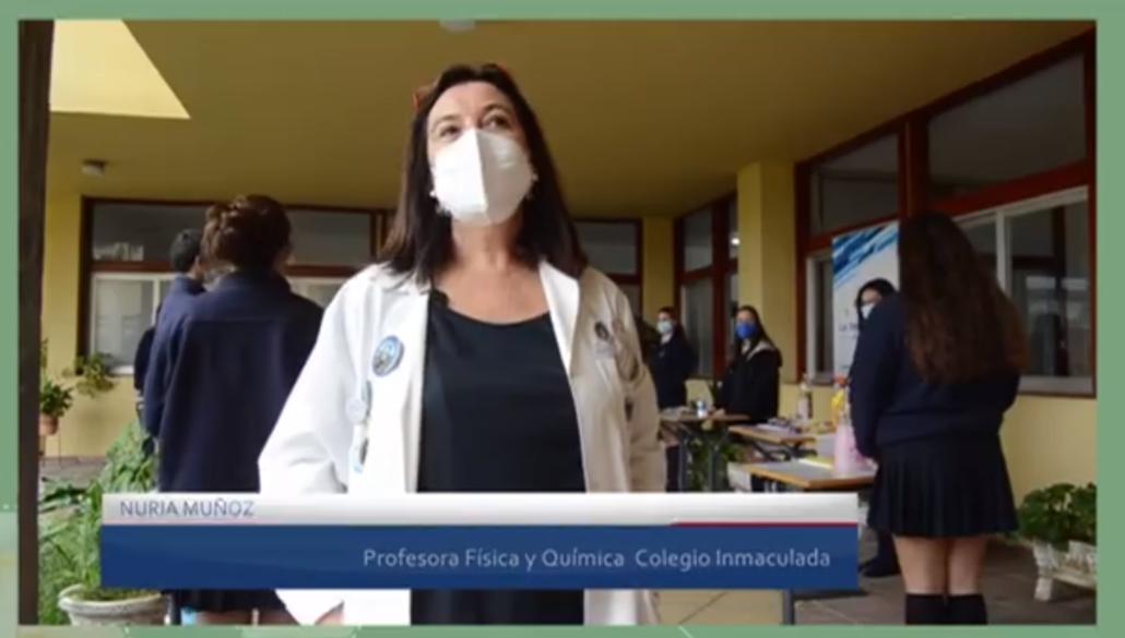 DIVERCIENCIA FLASH EN EL COLEGIO LA INMACULADA