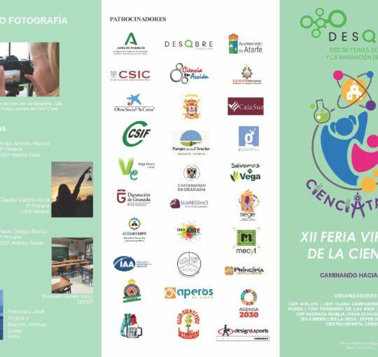 XII FERIA VIRTUAL CIENCIATARFE: CAMINANDO HACIA 2030