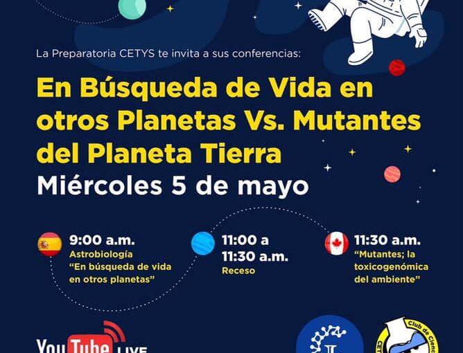 EN BUSCA DE VIDA EN OTROS PLANETAS VS. MUTANTES DEL PLANETA TIERRA