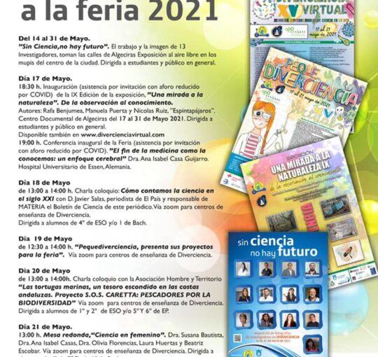 PROGRAMA DE ACTIVIDADES PARALELAS A LA FERIA DIVERCIENCIA 2021