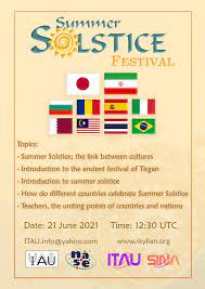 TIRGAN AND THE SUMMER SOLSTICE AROUND THE WORLD